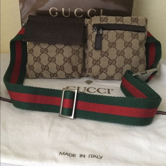 6a4434bca06d Gucci Bags   Fanny Pack Cherry Line Body Belt Bag   Poshmark